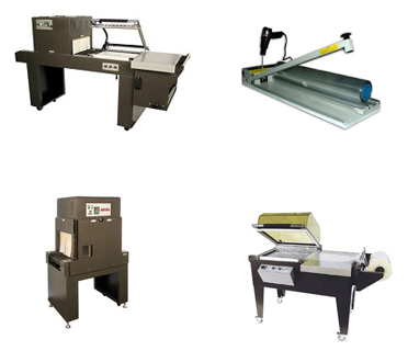 Shrink Wrap Machines Large and Small