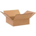 Flat Corrugated Box