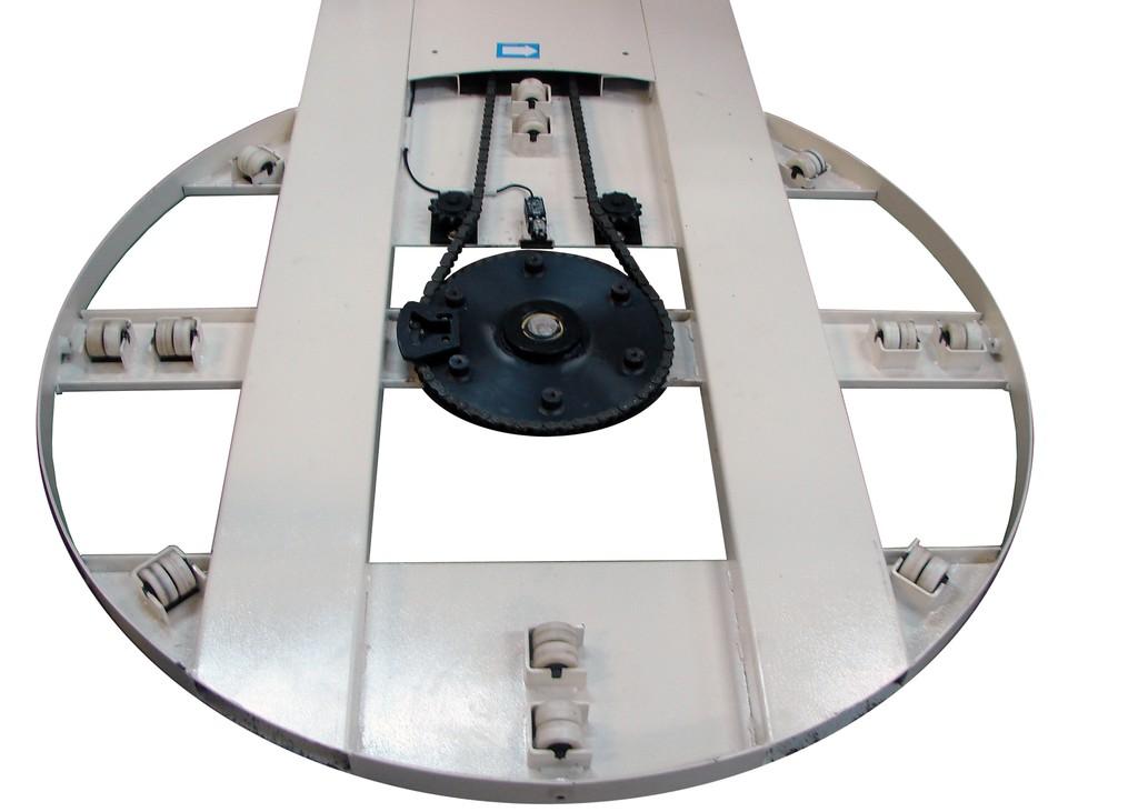 Standard Stretch Wrap Machine With Scale