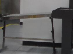 Straight Gravity Roller Conveyor w/1519 Shrink Combo