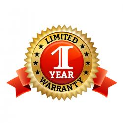 1 Year Warranty on Parts