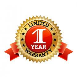 1 Year Warranty