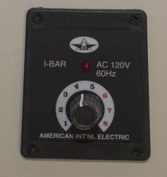 L Bar Sealer Control Panel