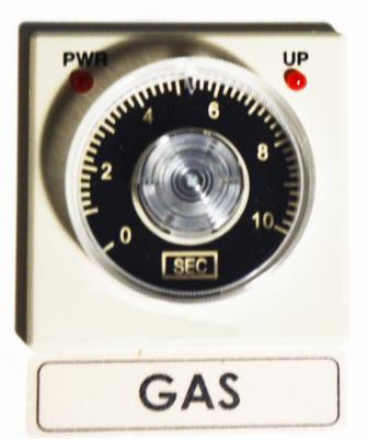 Gas Flush Settings