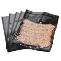 Meat Vacuum Bags w/Black Background