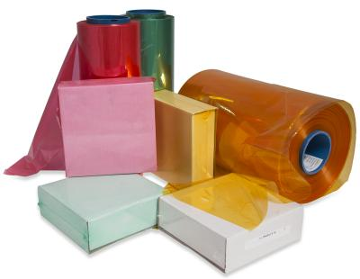 Colored PVC Shrink Rolls