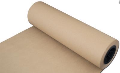 Open 30 lb Kraft Paper Roll