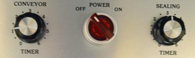 2028MKS Sealer Control Panel