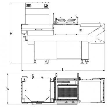 HDX 250 Dimensions
