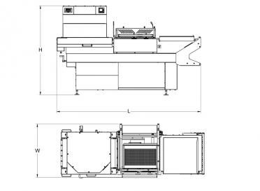 HS-HDX350 Footprint