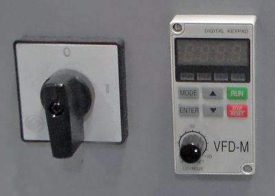 Belted Infeed Conveyor Control Panel