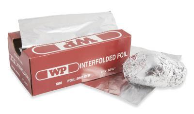 Folded Foil Sheets