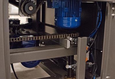 Automatic Side Seal shrink wrapper belt drive