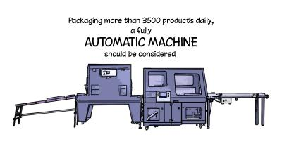 Automatic Side Seal Machine Recommended Output