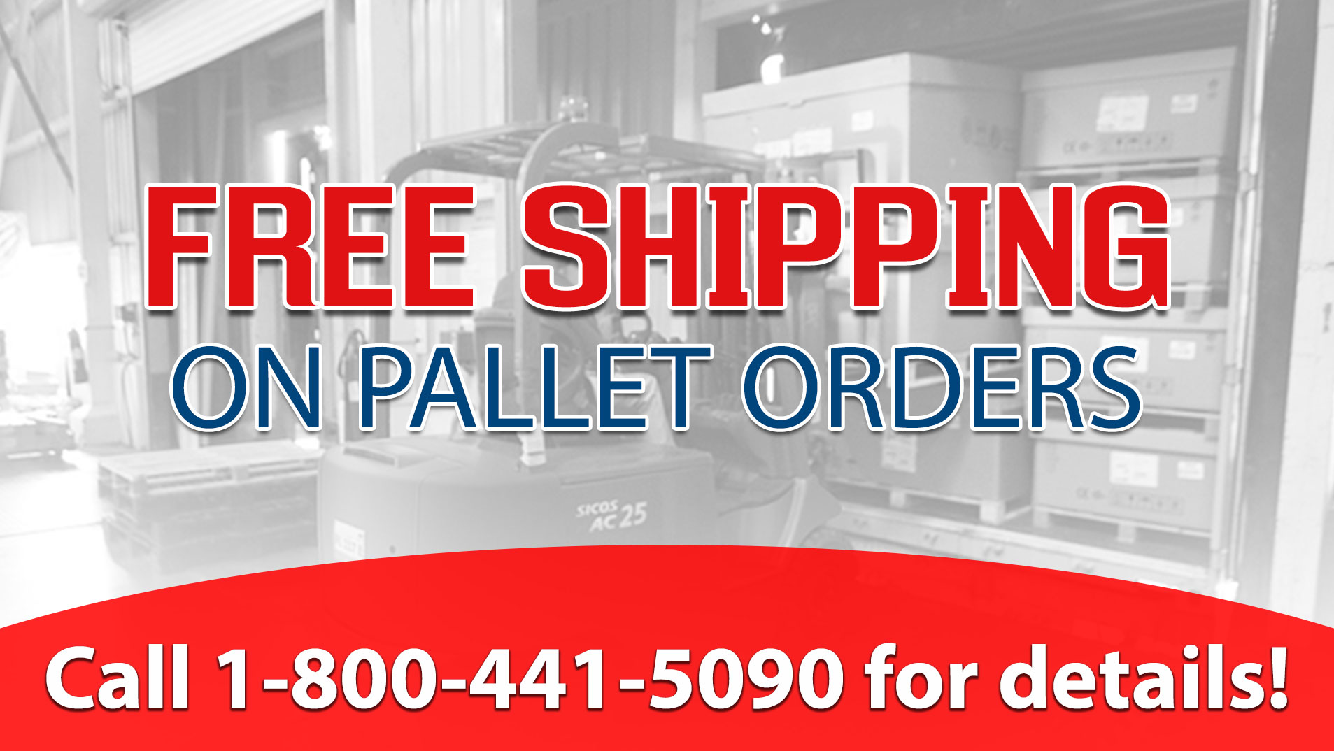 Stretch Film Pallet Orders Ship Free