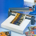 Impulse Sealer With Cutter Blade