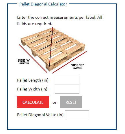 Pallet Measurement