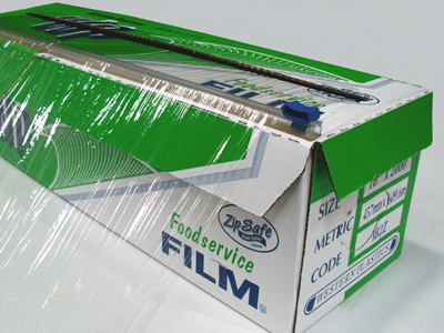 Image of a large box of plastic wrap.