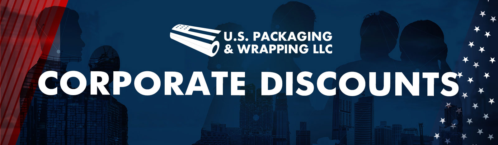 Corporate Discounts for US Packaging and wrapping
