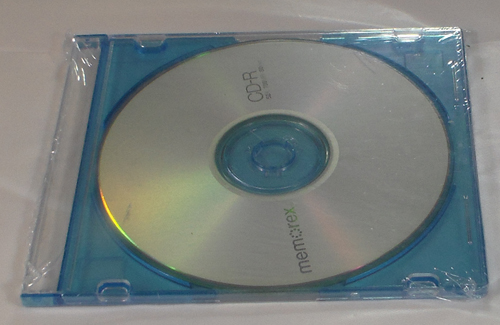 Shrink Wrapped CD